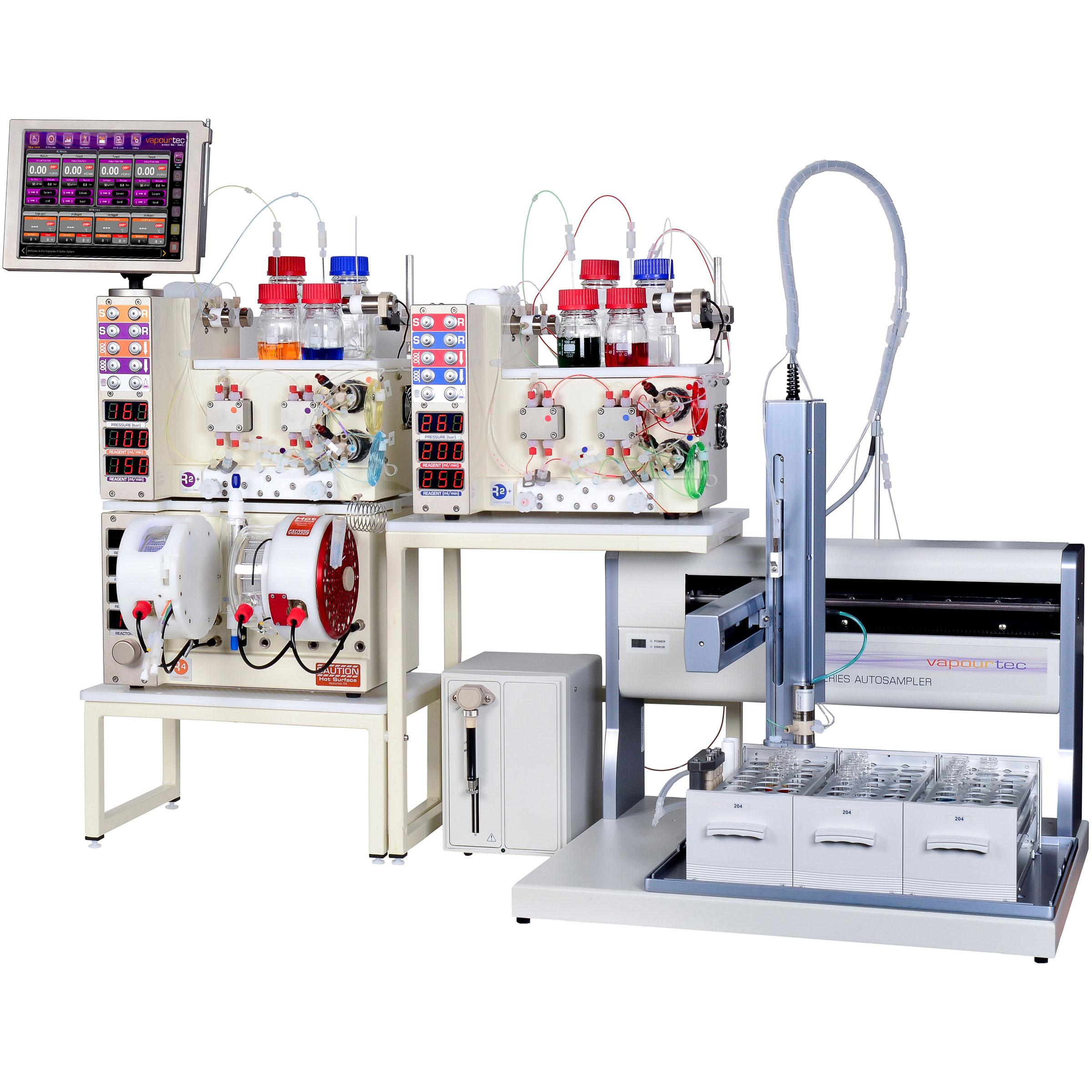 Vapourtec-R-Seris-Autosampler-Liquid-Handler-Plattform-Flow-Chemie