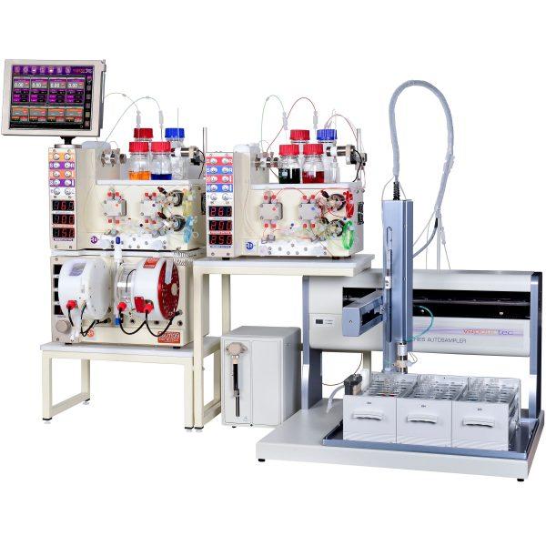 RS-400 multiple pump flow chemistry system