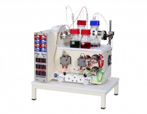 R2S single flow chemistry pump module