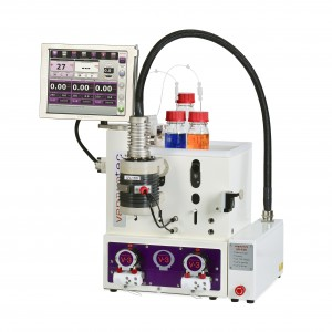 E-series flow chemistry system with photochemical reactor