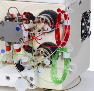 Vapourtec pump module sample loops