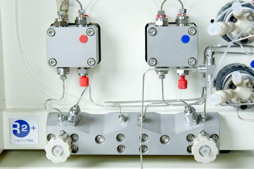 Vapourtec stainless steel pump module