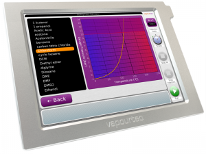 Vapourtec-E-Series-manual-user-interface-flow-chemistry-system-boiling-chart