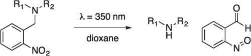 2-nitrobenzyl protecting group for nitrogen containing compounds