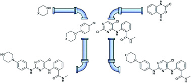 An integrated flow and microwave approach to a broad spectrum protein kinase inhibitor
