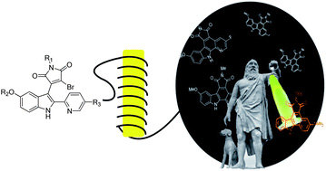 Continuous synthesis of pyridocarbazoles and initial photophysical and bioprobe characterization