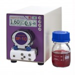 SF-10 reagent pump front - with reagent bottle