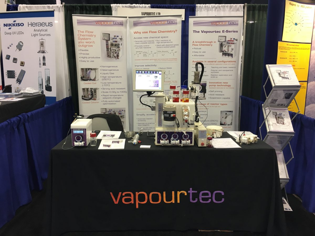 Vapourtec-ACS-exhibition