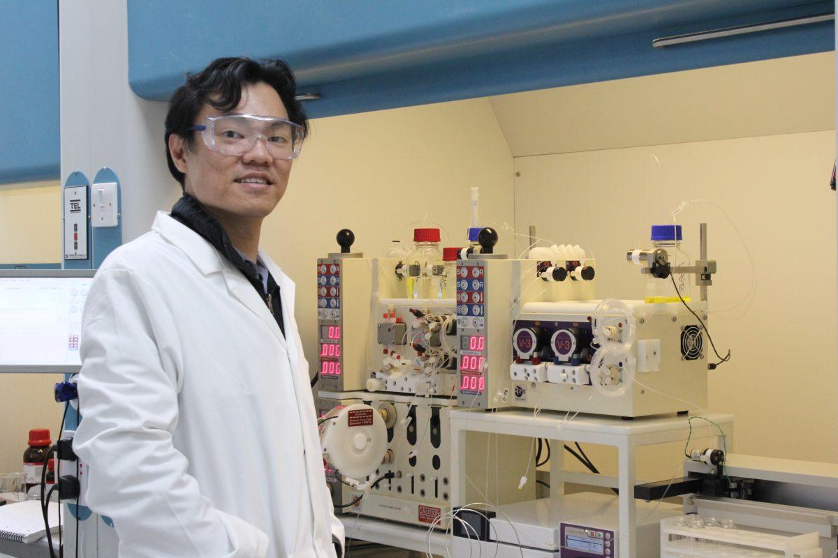 Sek Choong Vapourtec flow chemistry