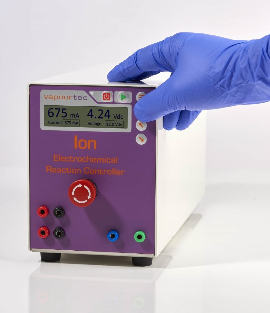 Ion reaction controller