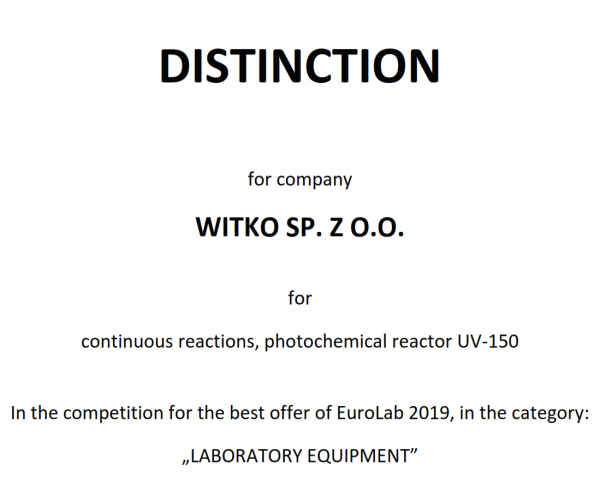 Witko-UV-150-distinction