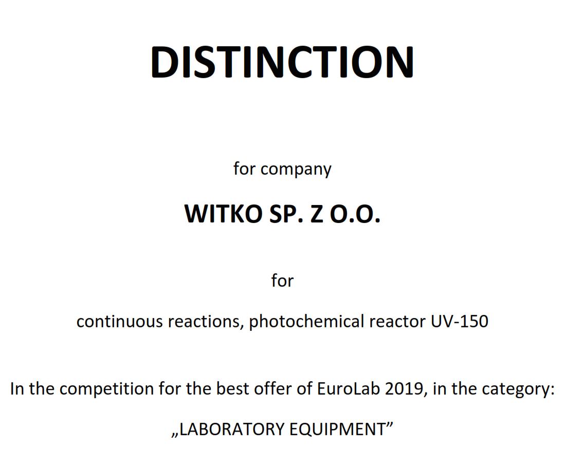 Witko-UV-150-distinction