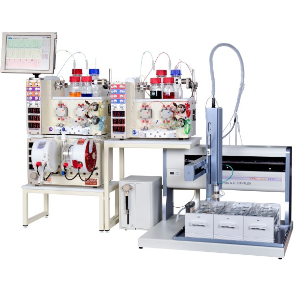 RS-400 multiple pump flow chemistry system